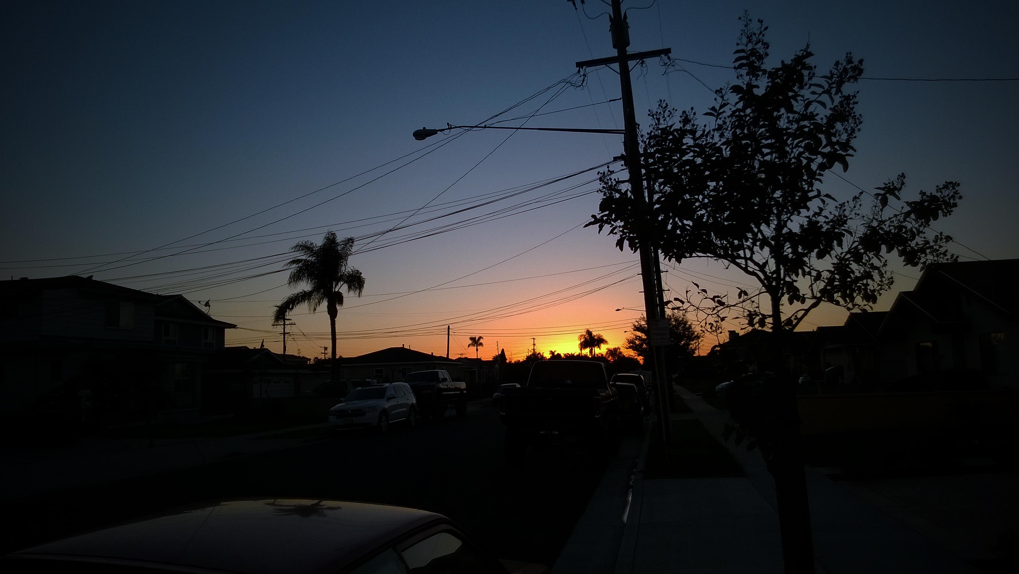 1st LA Sunset