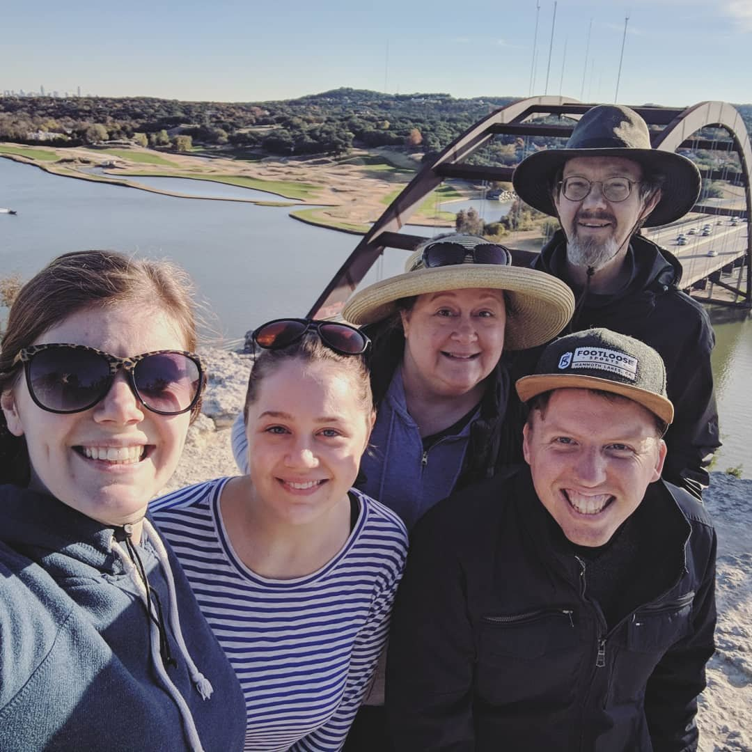 Thanksgiving 2018: Coxen visit Austin
