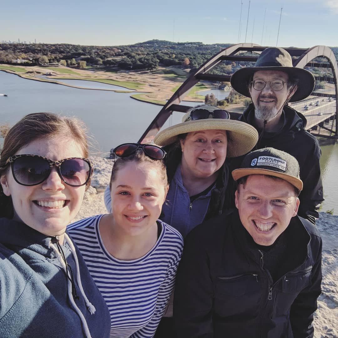 Thanksgiving 2018: Coxen visit Austin
